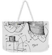 Slinky Patent 1947 Weekender Tote Bag