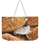 Small Asian Dried Shrimp In Kep Market Cambodia Weekender Tote Bag
