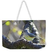 Tufted Titmouse - Small Bird Weekender Tote Bag