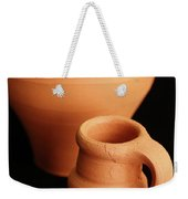 Small Pottery Items Weekender Tote Bag