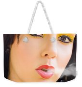 Smoking Weekender Tote Bag