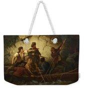 Smuggler In A Boat Weekender Tote Bag