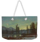 Snow In The Rockies Weekender Tote Bag