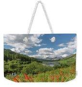 Snowdonia Lake Weekender Tote Bag