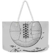 Soccer Ball Patent  1928 Weekender Tote Bag