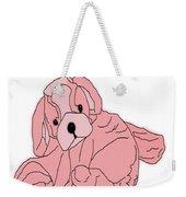 Soft Puppy Pink Weekender Tote Bag