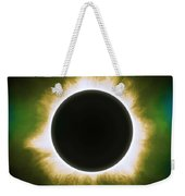 Solar Eclipse In Infrared Weekender Tote Bag