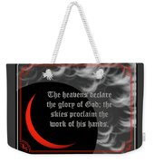 Solar Eclipse Reflections 3 Weekender Tote Bag
