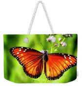 Soldier Butterfly Weekender Tote Bag