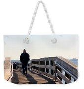 Solitary Man Walks Weekender Tote Bag