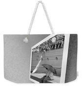 Somewhere Its Raining Weekender Tote Bag