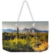 Sonoran Desert Weekender Tote Bag