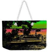 Soundside Treehouse View Weekender Tote Bag