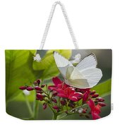 Southern White Butterfly  Weekender Tote Bag