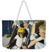 Space: Chimpanzee, 1961 Weekender Tote Bag