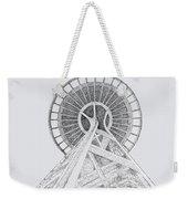 Space Needle- Looking Up Weekender Tote Bag