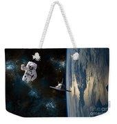 Space Rescue Weekender Tote Bag