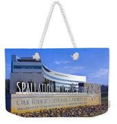 Spallation Neutron Source Weekender Tote Bag