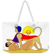 Sphinx And Failed Puzzler Weekender Tote Bag