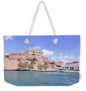 Spinalonga Greece Weekender Tote Bag