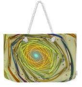 Spiral Rainbow Weekender Tote Bag