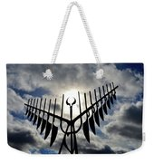 Spirit Catcher Against The Sky  Weekender Tote Bag
