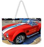 Sports Car Weekender Tote Bag