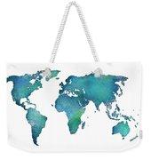 Spray Paint Map Weekender Tote Bag
