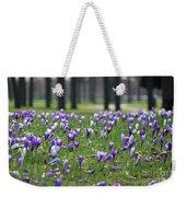 Spring Flowering Crocuses Weekender Tote Bag