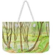 Spring Landscape, Painting Weekender Tote Bag