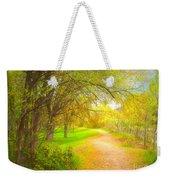 Spring Pathways Weekender Tote Bag