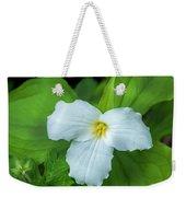 Spring Trillium Weekender Tote Bag