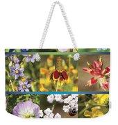 Spring Wildflowers II Weekender Tote Bag