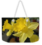 Spring Yellow Weekender Tote Bag