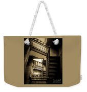 Staircase In Swannanoa Mansion Weekender Tote Bag