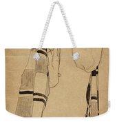 Standing Girl Weekender Tote Bag