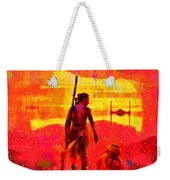 Star Wars 8 Last Jedi - Pa Weekender Tote Bag
