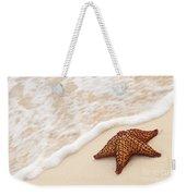 Starfish And Ocean Wave Weekender Tote Bag