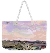 Statue Of A Horse From Branches Weekender Tote Bag