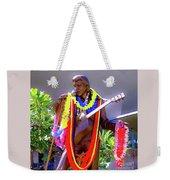 Statue Of, Elvis Presley - Honolulu, Hawaii  Weekender Tote Bag