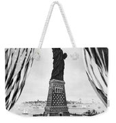 Statue Of Liberty, 1885 Weekender Tote Bag by Granger