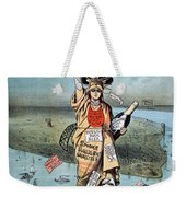 Statue Of Liberty Cartoon Weekender Tote Bag
