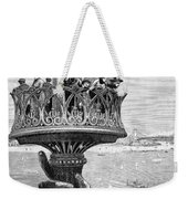 Statue Of Liberty: Torch Weekender Tote Bag