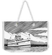 Steamship Virginia V Weekender Tote Bag