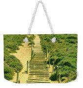 Steps To The Beach Weekender Tote Bag