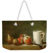 Still Life With A White Mug Weekender Tote Bag