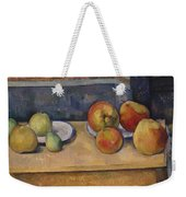 Still Life With Apples And Pears Weekender Tote Bag