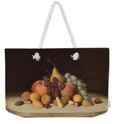 Still Life With Fruit And Nuts Weekender Tote Bag