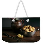 Still Life With Potatoes Weekender Tote Bag