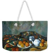 Still Life With Teapot Weekender Tote Bag